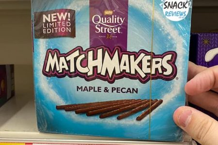 New Limited Edition MatchMakers Maple & Pecan Flavour At Tesco