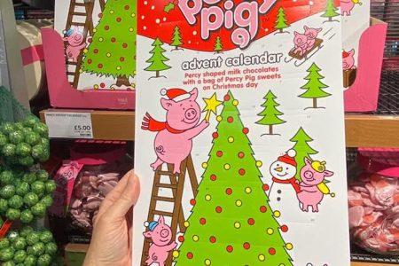 New Percy Pig Advent Calendar At M&S