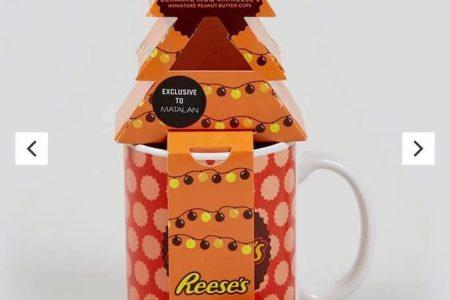 Reece's Mini Peanut Butter Cups & Mug Gift Set At Matalan