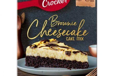 Betty Crocker Brownie Cheesecake Cake Mix New To Tesco