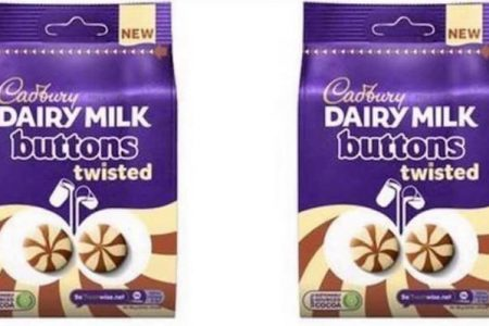 New Cadbury Dairy Milk Buttons Twisted Coming Soon