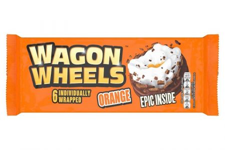 NEW Orange Wagon Wheels Now Available at Iceland