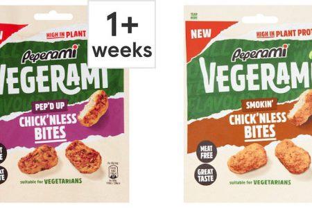Tesco Launch NEW Peperami Vegerami MEAT FREE Bites