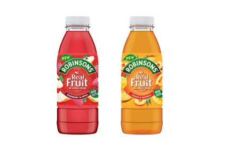 Robinsons Two New Flavours Ready to Drink 500ml Bottles Launching